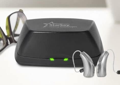 aparelho auditivo recarregável